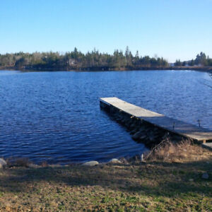 Lakefront for rent on Porters Lake with private dock and launch