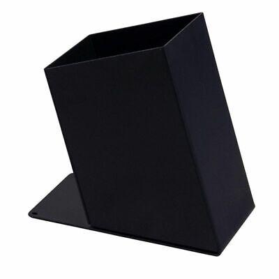 Pencil Holder - Black Metal Pen Holder Home And Office Desk Supplies Organizer