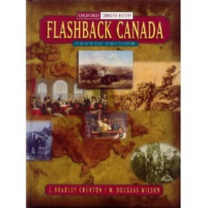 Flashback Canada 4th edition History textbook