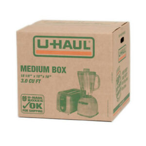 UHaul Used Moving Boxes For Sale!