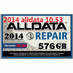 Mitchell Ondemand 5 + AllData 2014 - 2014 on External HDD $250