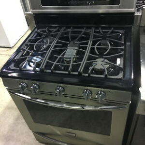 NEW AND USED GAS STOVES WHITE AND STAINLESS GAS RANGES DUAL FUEL