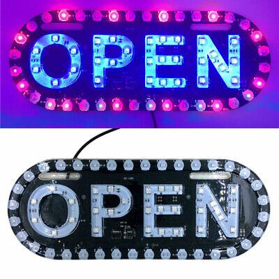 Open Sign Neon Led Light Handmade Commercial Lighting Business Shop Display 99