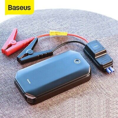 Avviatore Batteria Auto 800A 8000mAh/3.7V/29.6Wh Portatile Per Auto/Moto Torcia