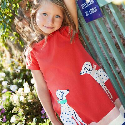 Kleidung Kleid Prinzessin Kurze Ärmel Kinder Hundemuster Bedruckt Niedlich Kleid