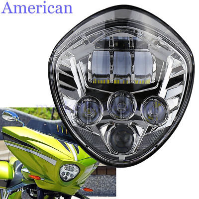 60W LED HEADLIGHT HILO BEAM FOR <em>VICTORY</em> <em>CROSS COUNTRY TOUR</em> 8 BALL VEG