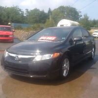 2008 Civic 4 Door ((NEW MVI)) Call or Text 209-9180