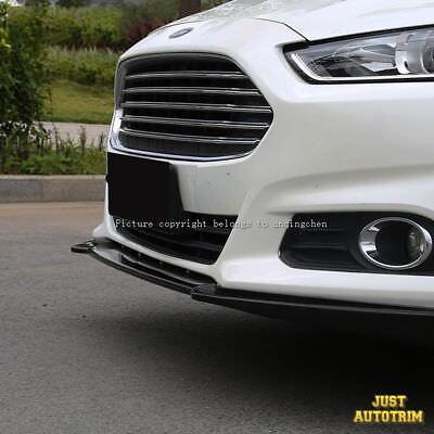 Black Piano paint front bumper Lip Spoiler for 2013-216 ford fusion Accessories