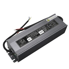 Brand New DC 12V 25A 300W Waterproof IP67 LED Driver Power Supply Adapter Transformer