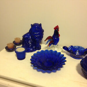 Blue Glass Collection Mint Condition Kingston Kingston Area image 2