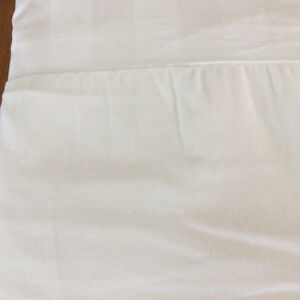 King Size White Duvet Cover and matching bed skirt
