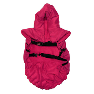 baby parka™ Carrier Coat with Two-Way Hood in Red
