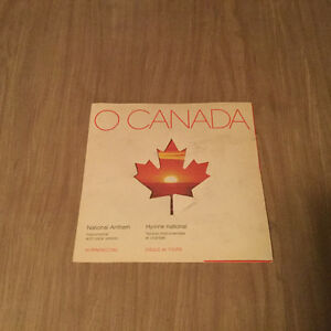 Vintage collectible O Canada 45 record for sale