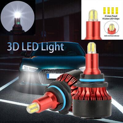 H7 8-Sides FIT FOR BMW 3 SERIES F30 SLIM LED CONVERSION CAR HEADLIGHT BULB KITX2