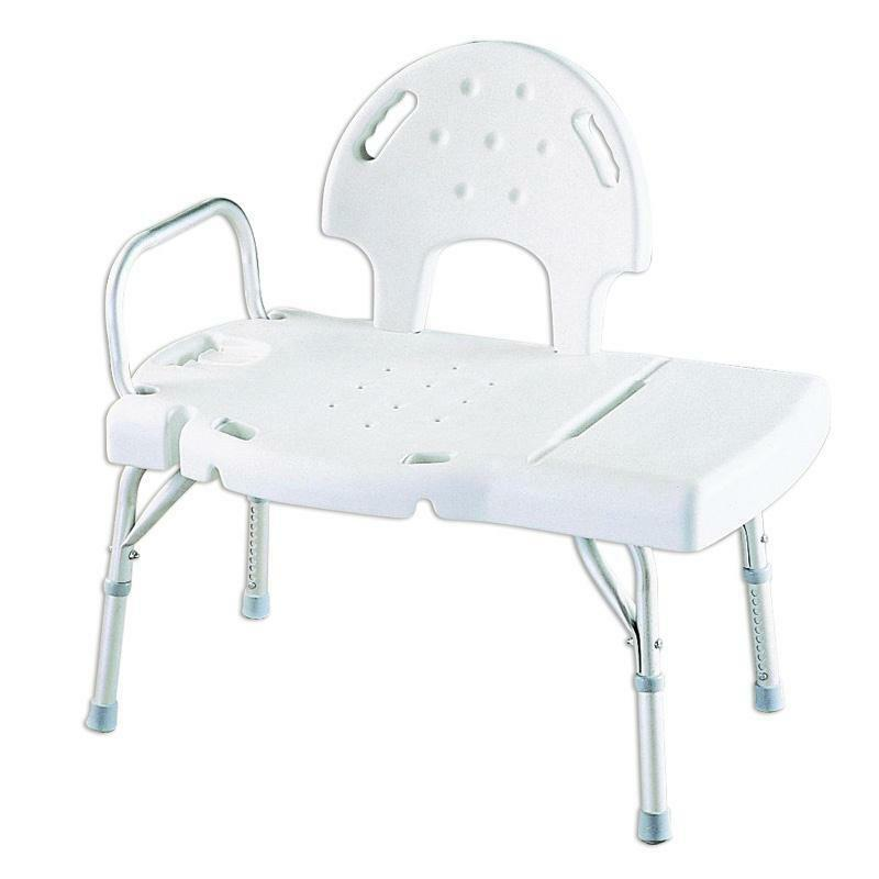 Invacare Heavy Duty Bath Tub Shower Chair Transfer Seat Bench, #INV9670U