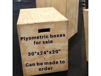 Plyometric boxes - gym - crossfit
