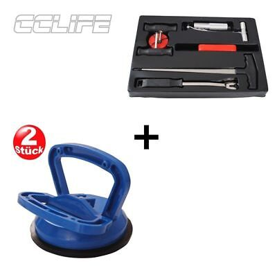 7tlg Windschutzscheibe Autoglas Reparatur Ausbau Werkzeug Schneidedraht Set KFZ