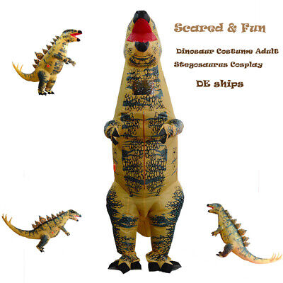 Inflatable Dinosaur Adult Stegosaurus Cosplay Costume for Parade Party - Stegosaurus Kostüm