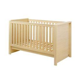 Kub madera cot bed and mattress