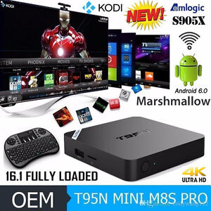 **T95N**Android Tv Box** with Kodi** Fully Loaded & Ready