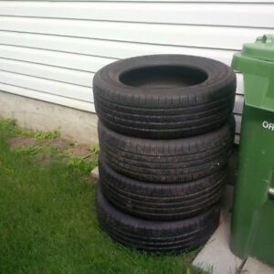 Goodyear tires set of 4 size is 235/60/R18