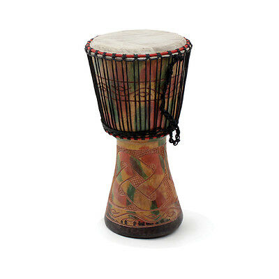 """Genuine African  D'Jembe Drum: Medium 16-18"""", Delivery In About 8 Days USA, used for sale  Shipping to Nigeria"""