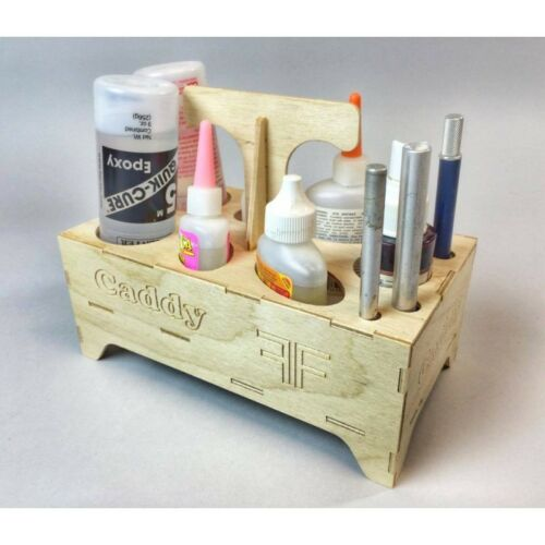 Foam-Flite Benchtop RC Glue Caddy
