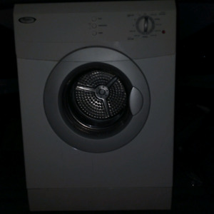 Whirlpool 24 inch dryer stainless drum