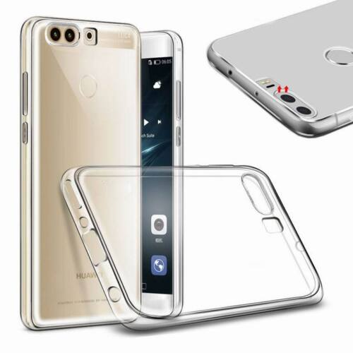 For Huawei P10 P9 P8 Lite Ultra Slim Transparent Soft Rubber Crystal Case Cover