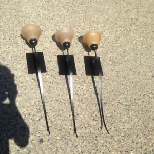 Rubbed Bronze Wall Sconces