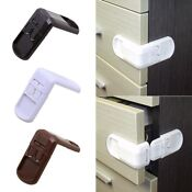 5x Baby Child Cupboard Cabinet Safety Locks Pet Proofing Door Drawer Fridge Kid