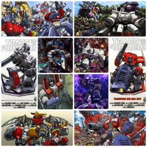 New G1 Transformers POSTERS $5 each or $40 for Set!