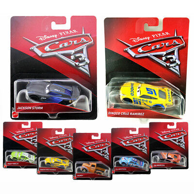 Cars 3 Lightning McQueen Jackson Storm Diecast Cars 1:55 Toys for Kids in Box (Mcqueen Car For Kids)