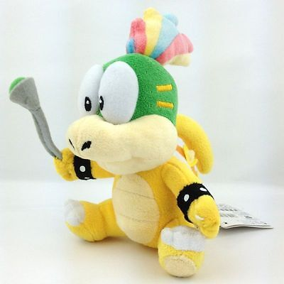 "New Super Mario Bros Lemmy Koopa Remi Koopaling 6"" Plush Toy Doll Stuffed Animal"