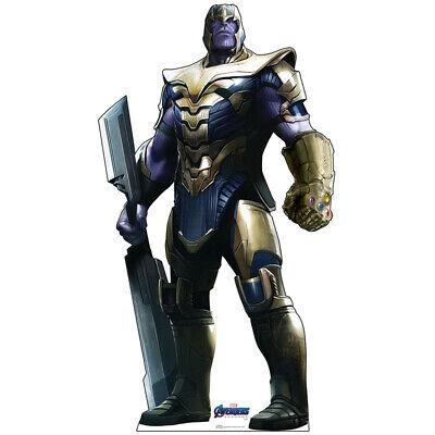 Avengers Cut Out (THANOS Avengers Endgame CARDBOARD CUTOUT Standup Standee Josh Brolin FREE)