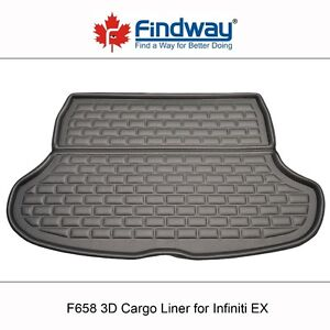 Findway F658 Style 3D Cargo Liner for 2008-2013 Infiniti EX
