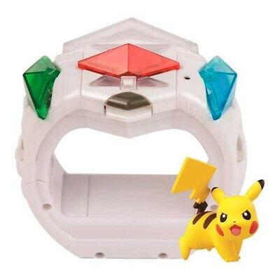 Pulsera Pokemon Ataque Z con Cristales y Figura Pikachu de Bizak