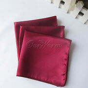 Burgundy Cloth Napkins