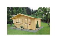 Log Cabin , summer house , garden building