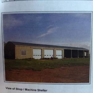 ATTENTION TRUCKERS Home/Shop on 7ac w/income 15min to St. Albert