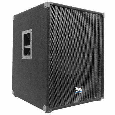 "NEW 18/"" SubWoofer Speaker.Pro Audio.1400w.DJ.8ohm.eighteen inch BASS.PA.18inch"