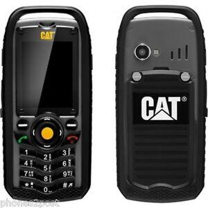 NEW CAT B25 TOUGH SOILD BUILDERS RUGGEDISED IP67 UNLOCKED TRADESMAN MOBILE PHONE