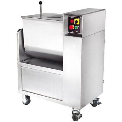 Sausage Maker 110 Lb Capacity Commercial Stainless Steel Meat Mixer Model 44145