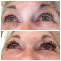 Classic and Volume Lash Extensions!
