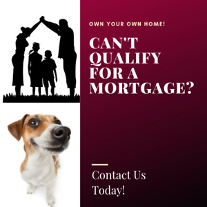Bruised Credit History and The Bank Won't Give You A Mortgage?