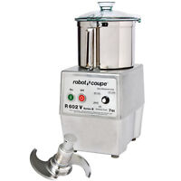 Robot Coupe R602VB Variable Speed Food Processor with 7 qt. SS