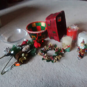 Various Christmas Items