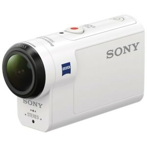 Sony Action Cam HDR-AS300 + Live View Remote + Bonus Accessories