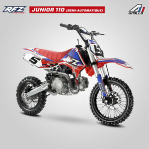 Motocross francais apollo RFZ 110cc OU 125CC  junior