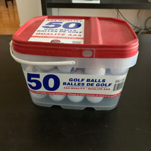 Assorted AAA Quality Golf Balls (50 pack)